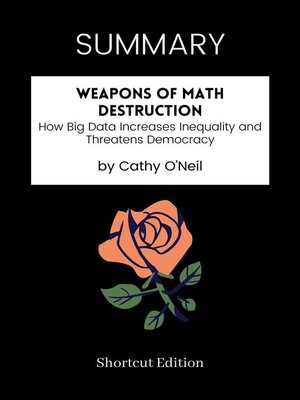cover image of SUMMARY--Weapons of Math Destruction