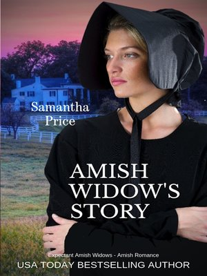 cover image of Amish Widow's Story