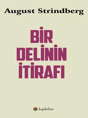 cover image of Bir Delinin İtirafı