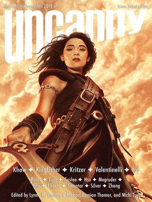 cover image of Uncanny Magazine Issue 25