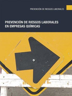 cover image of Prevención de riesgos laborales en empresas químicas