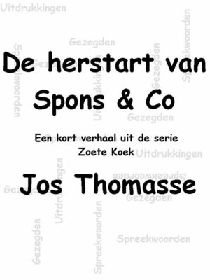 cover image of De herstart van Spons $ Co