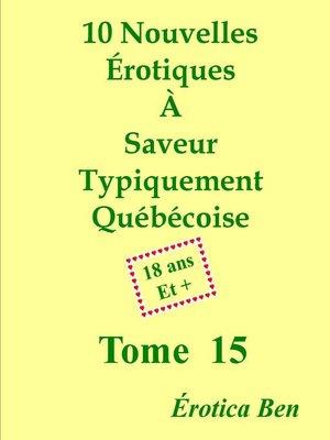 cover image of Érotica Ben le quinzième