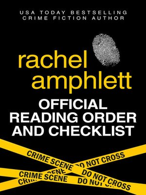 cover image of Rachel Amphlett Official Reading Order and Checklist