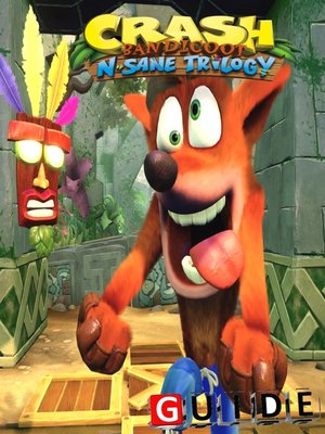 cover image of Crash Bandicoot N. Sane Trilogy Complete Tips and Tricks