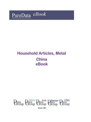 cover image of Household Articles, Metal in China