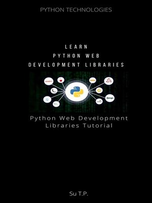 cover image of Learn Python Web Development Libraries