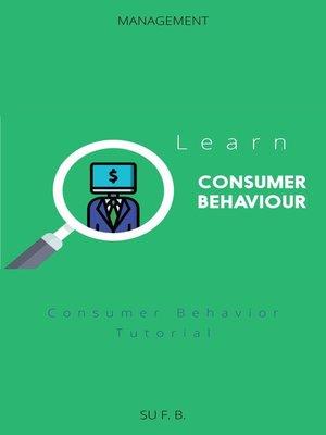 cover image of Learn Consumer Behavior