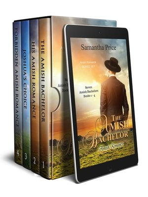 cover image of Seven Amish Bachelors Boxed Set Books 1--4