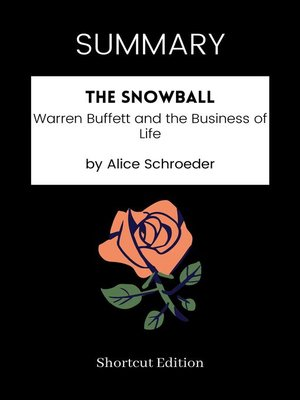 cover image of SUMMARY--The Snowball