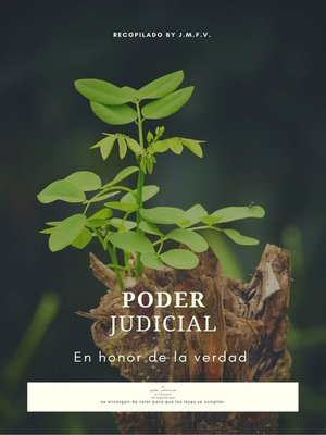 cover image of Poder Judicial