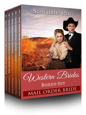 cover image of Western Brides Boxed Set