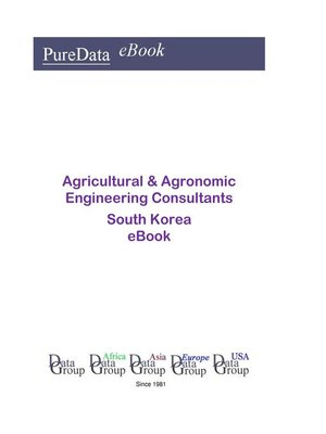 cover image of Agricultural & Agronomic Engineering Consultants in South Korea