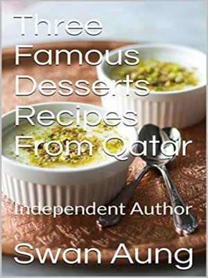 cover image of Three Famous Desserts Recipes From Qatar