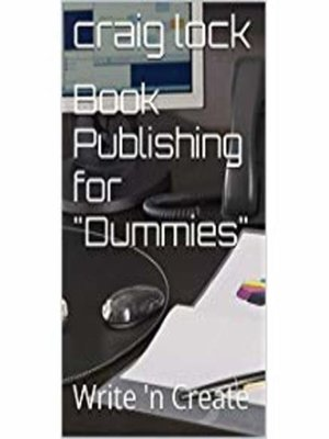 "cover image of Book Publishing for ""Dummies"""