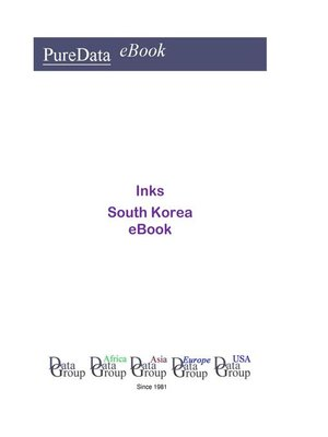 cover image of Inks in South Korea