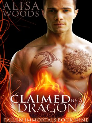 cover image of Claimed by a Dragon