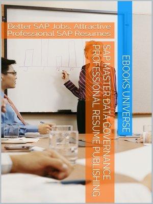 cover image of SAP Master Data Governance Professional Resume Publishing