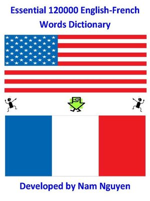 cover image of Essential 120,000 English-French Words Dictionary