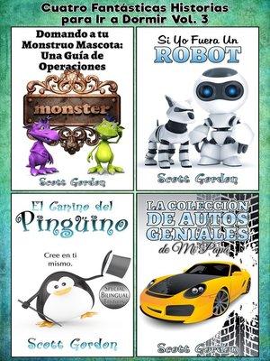 cover image of Cuatro Fantásticas Historias para Ir a Dormir Volume 3
