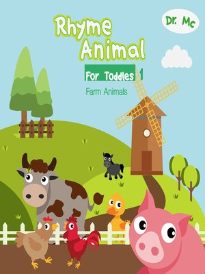 cover image of Rhyme Animal For Toddles 1  Farm Animals