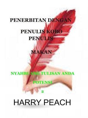 cover image of PENERBITAN DENGAN PENULIS KOBO PENULIS MAKAN