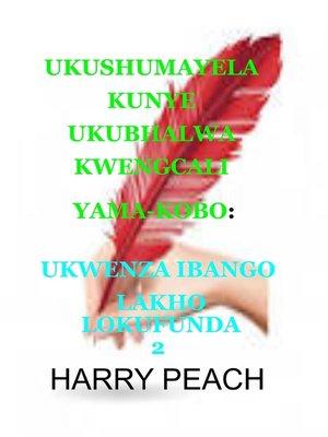 cover image of UKUSHUMAYELA KUNYE UKUBHALWA KWENGCALI YAMA KOBO