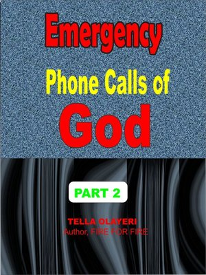 cover image of Emergency Phone Calls of God part two