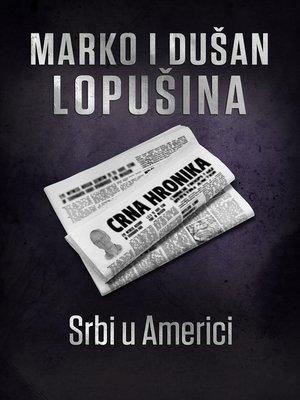 cover image of Srbi u Americi