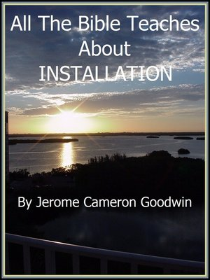 cover image of INSTALLATION