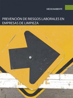 cover image of Prevención de riesgos laborales en empresas de limpieza