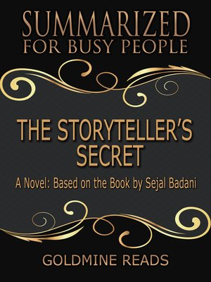 cover image of The Storyteller's Secret--Summarized for Busy People