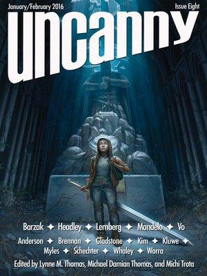 cover image of Uncanny Magazine Issue 8