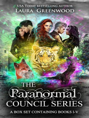 cover image of The Paranormal Council Complete Series