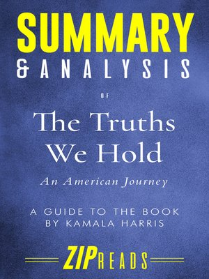 cover image of Summary & Analysis of the Truths We Hold