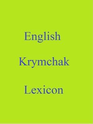 cover image of English Krymchak Lexicon