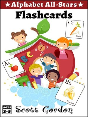 cover image of Alphabet All-Stars Flashcards