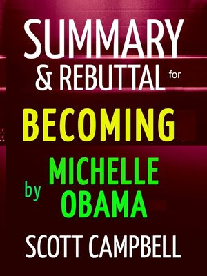 cover image of Summary & Rebuttal for Becoming by Michelle Obama