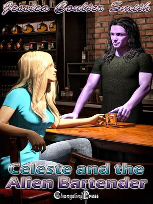 cover image of Celeste and the Alien Bartender