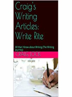 cover image of Craig's Writing Articles