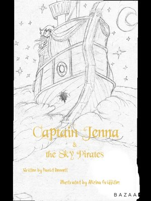 cover image of Captain Jenna & the Sky Pirates