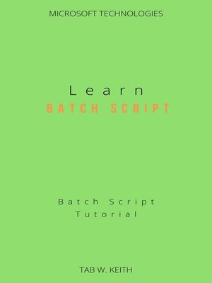 cover image of Learn Batch Script