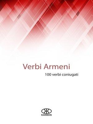 cover image of Verbi armeni