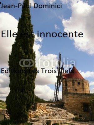 cover image of Elle est innocente !