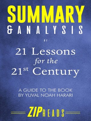 cover image of Summary & Analysis of 21 Lessons for the 21st Century