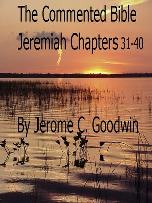 cover image of Jeremiah Chapters 31-40