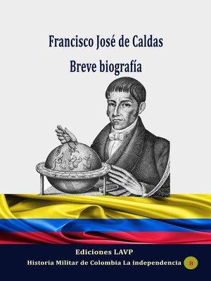 cover image of Francisco José de Caldas
