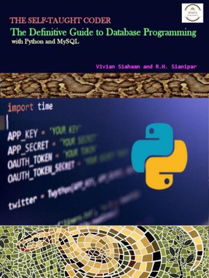 cover image of The Definitive Guide to Database Programming with Python and MySQL