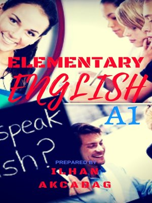 cover image of ELEMENTARY ENGLISH A1