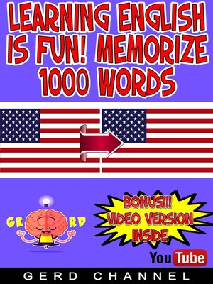 cover image of Learning English is Fun! Memorize 1000 Words